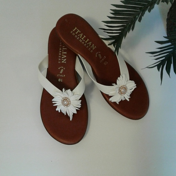 a0d73abcf413 Italian Shoemakers Shoes - Sandals. Italian Shoemakers brand. White.